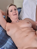 Canadian housewife fooling around with her toy boy