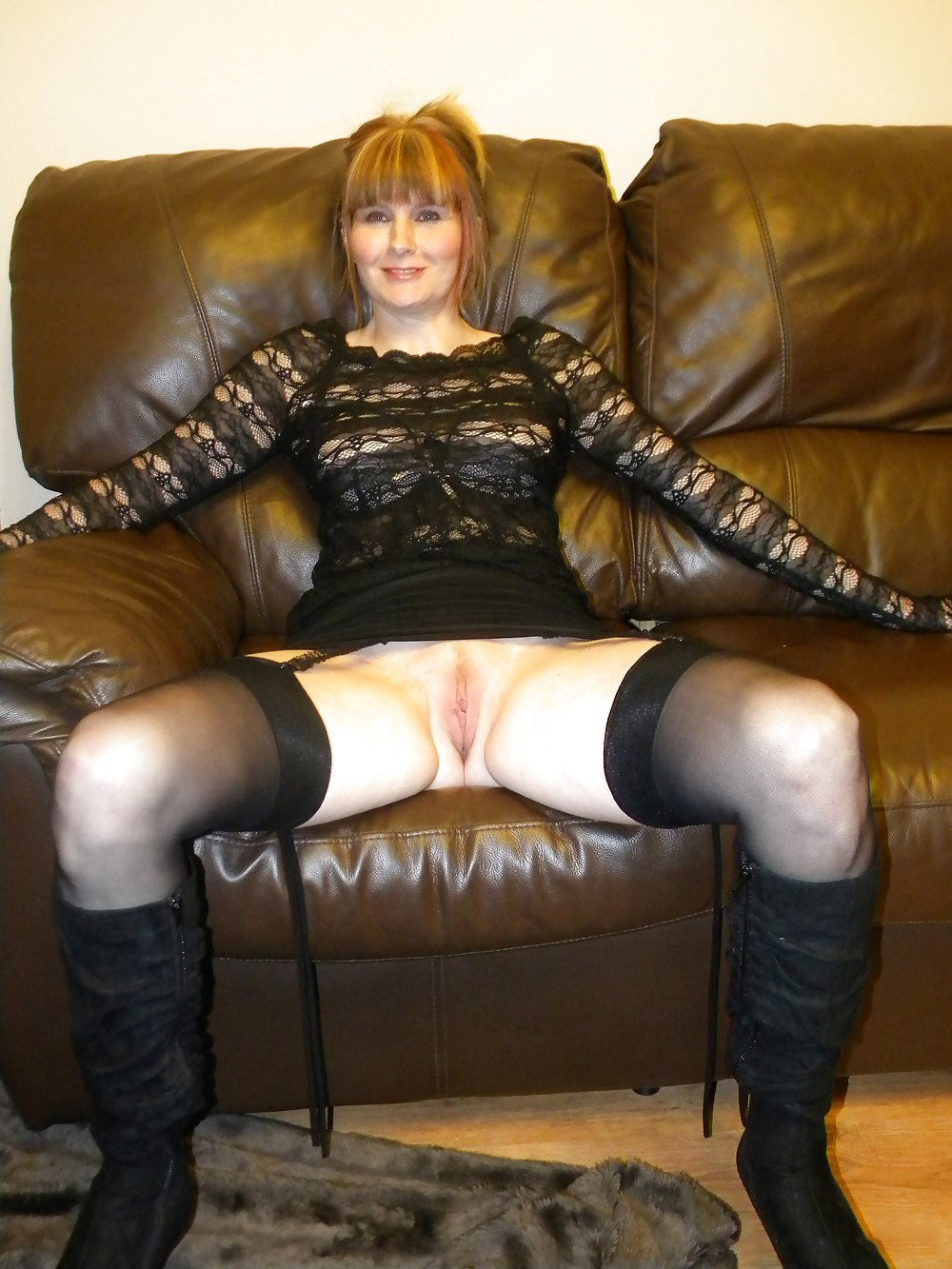 Granma in pantyhose the best